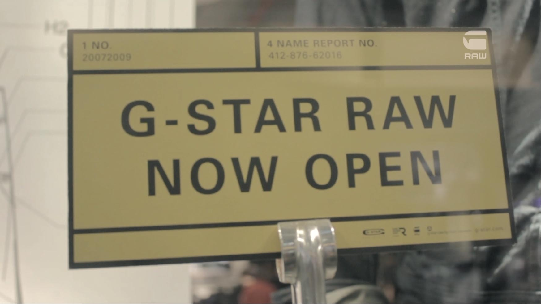 G-Star RAW | Goldfish Live